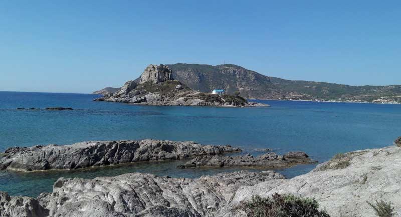 Районы острова Кос