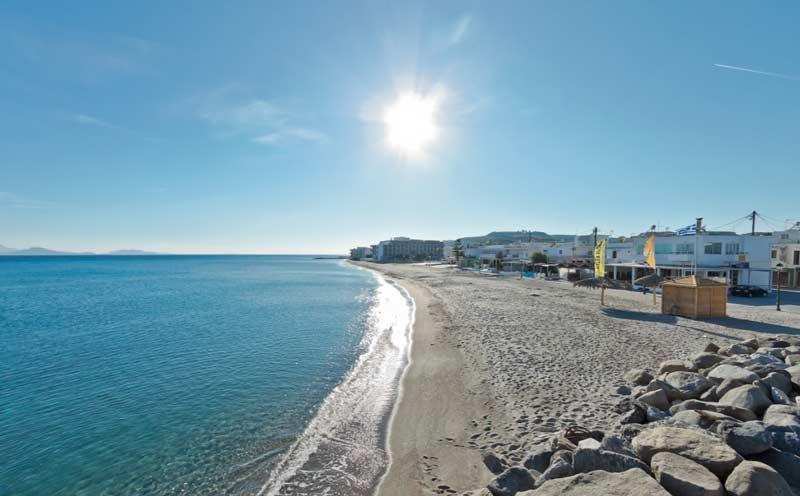 Пляжи Коса