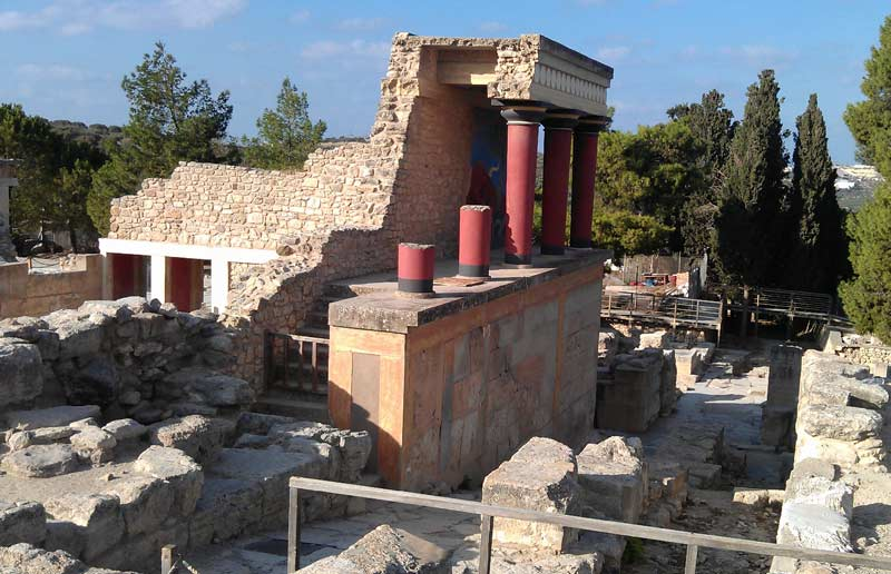 Дворец Минотавра Крит