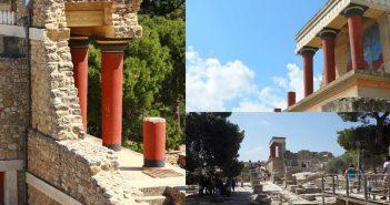 Кносский дворец на Крите (Лабиринт Минотавра) – главная достопримечательность острова