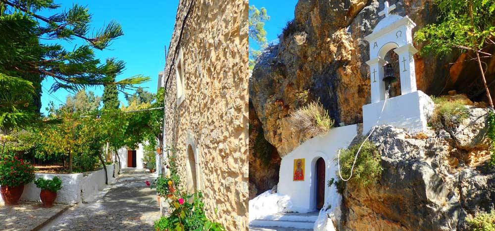 Поселок Коккини Хани на Крите