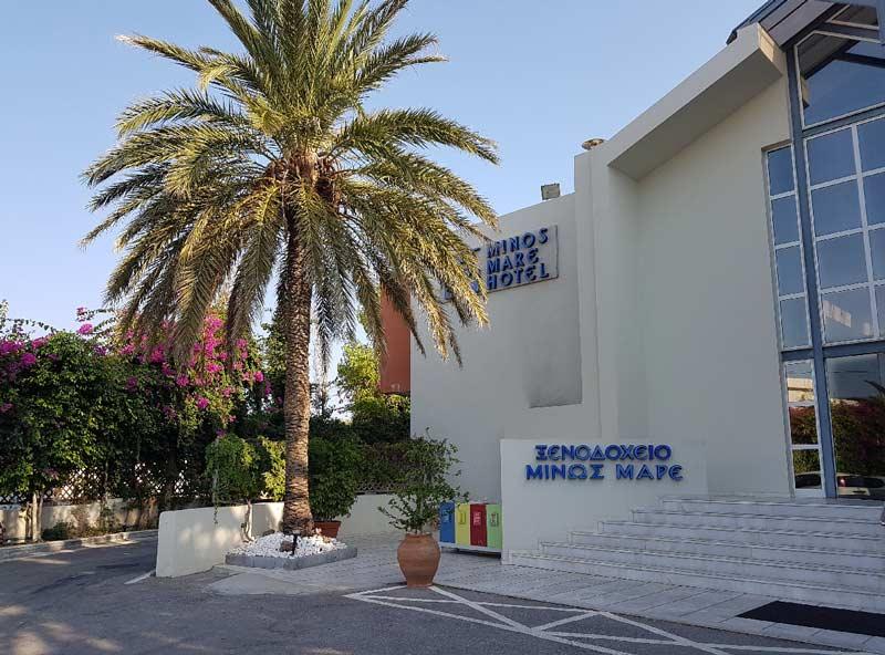 Отель Minos Mare Hotel 4 звезды Крит Ретимно