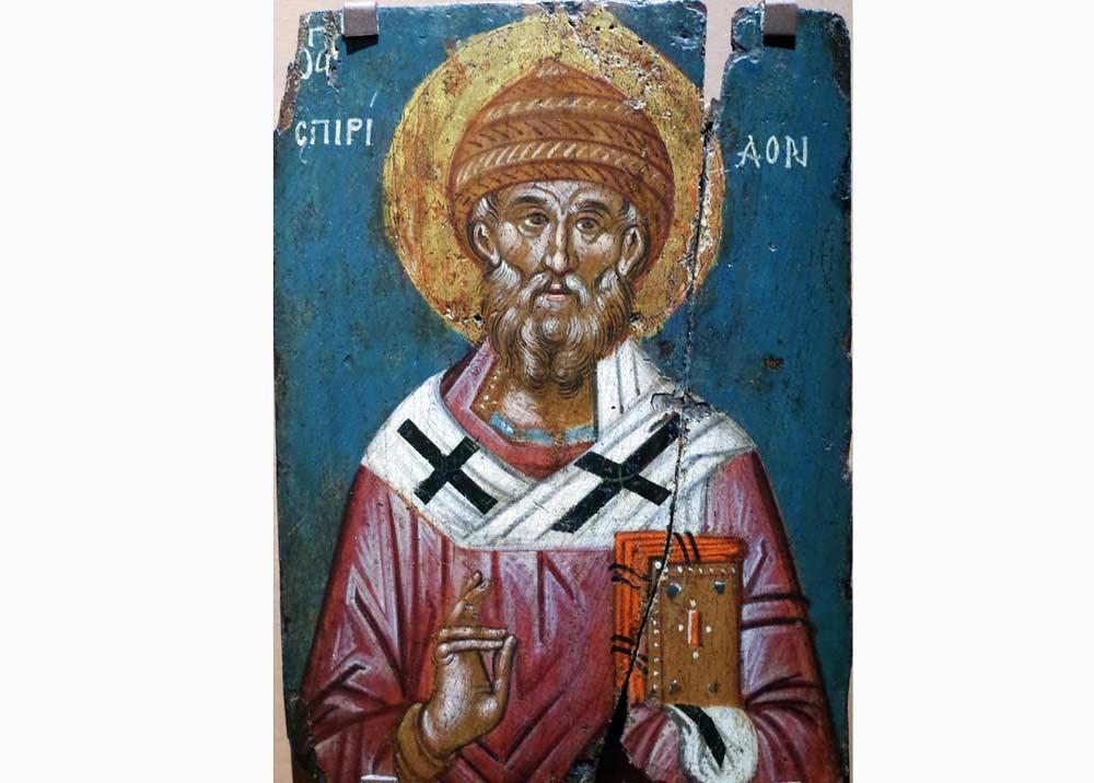 Святой Спиридон Тримифунтский на Корфу