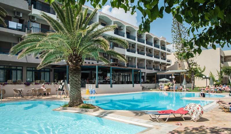 Бассейн в Orion Hotel 4 Греция Ретимно