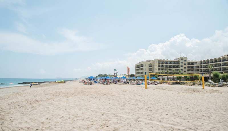 Пляж и море в Orion Hotel 4 Греция Ретимно
