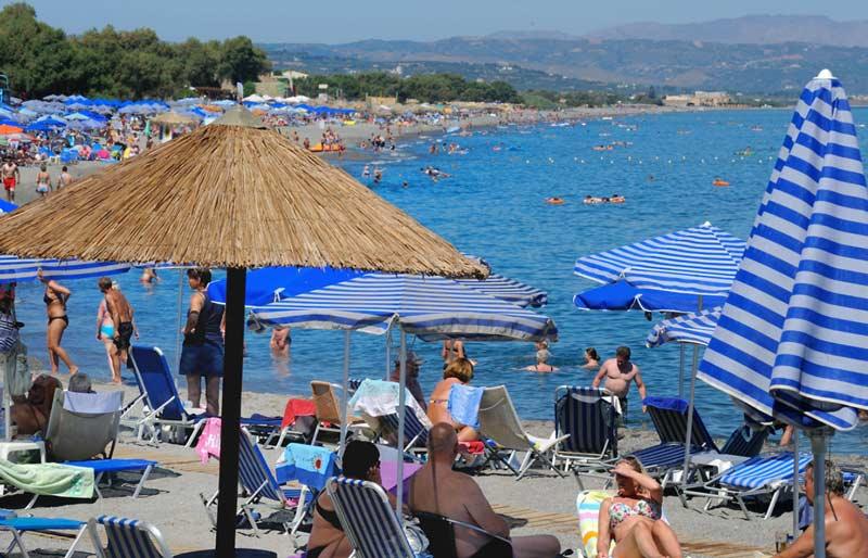 Температура воды на Крите в июле
