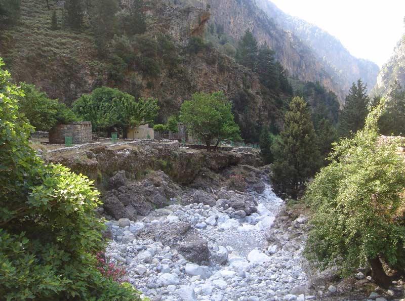Ущелье в Самарии