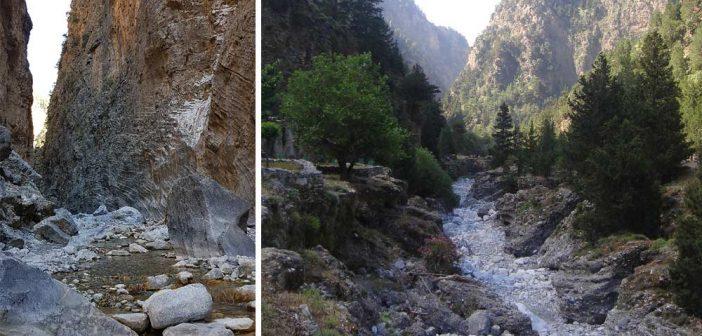 Самарийское ущелье на Крите – маршруты, карта, описание и туристическая информация