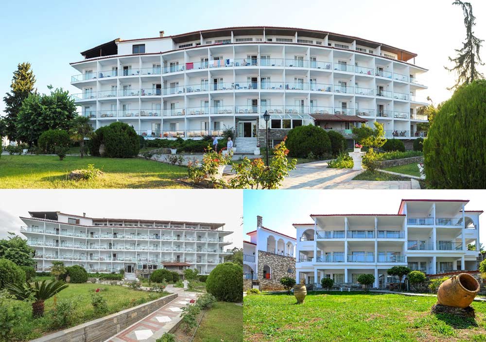Отель Alexander The Great Beach Hotel Кассандра