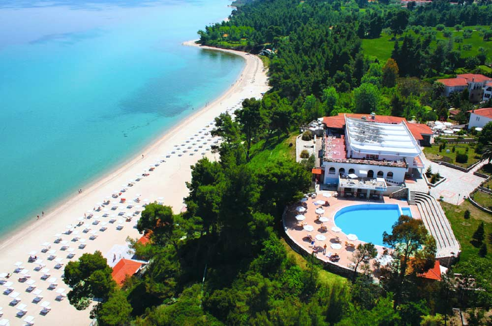 Отель Alexander The Great Beach Hotel Халкидики Греция