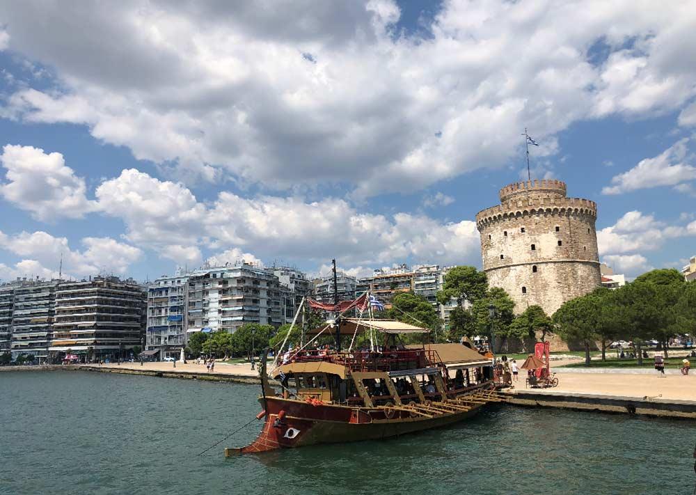 Белая башня Салоники