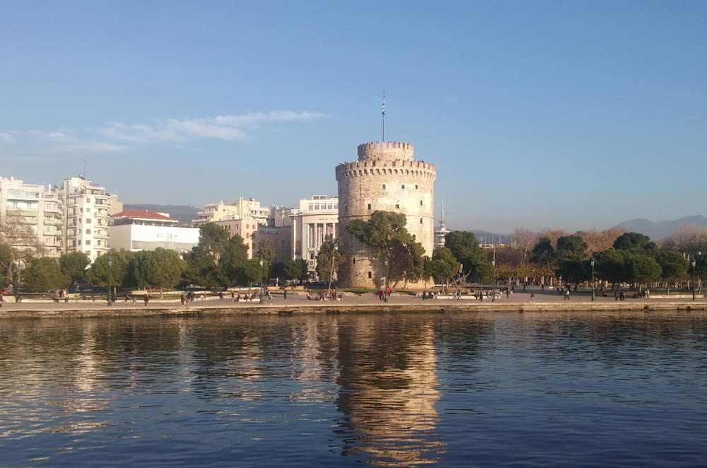 Архитектура Белой башни в Салониках