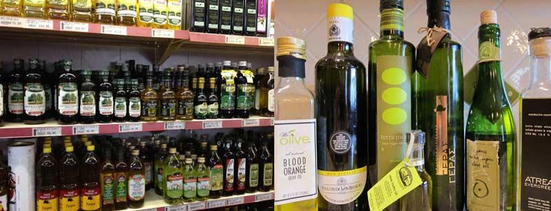 Греческие оливки и оливковое масло