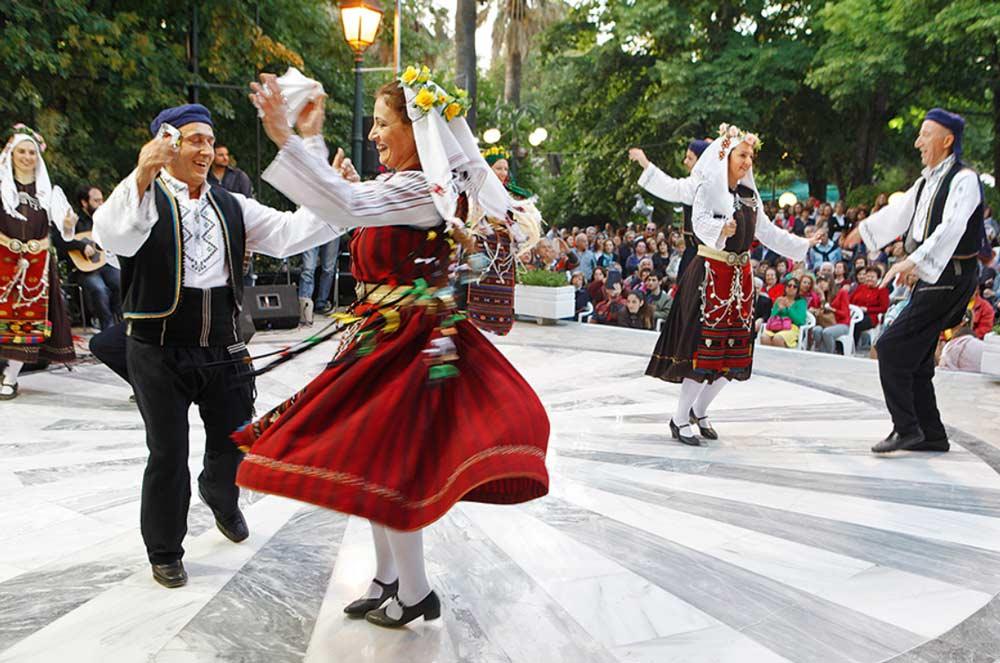 Греческий танец - Сиртаки, Хасапико, Сиртос, Каламатьянос и другие