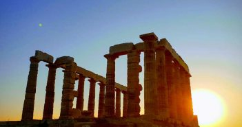 Храм Посейдона на мысе Сунион