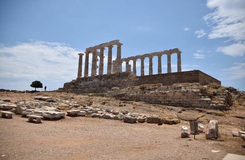 История храма Посейдона в Сунионе
