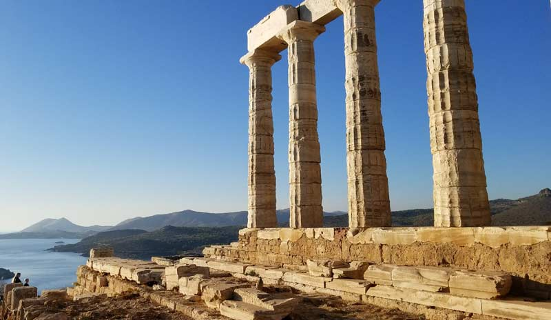 Мыс Сунион Храм Посейдона