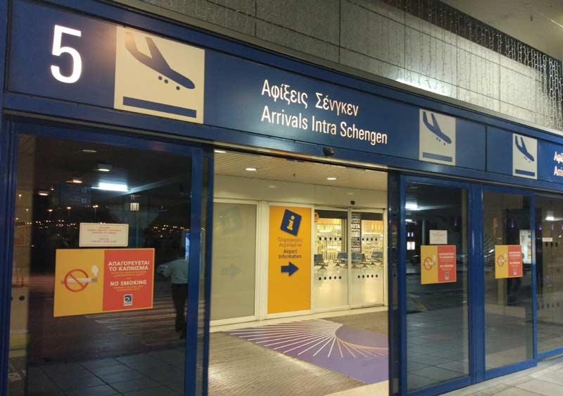 Как добраться от аэропорта Афин до центра города