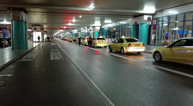 Такси в Афинах до аэропорта