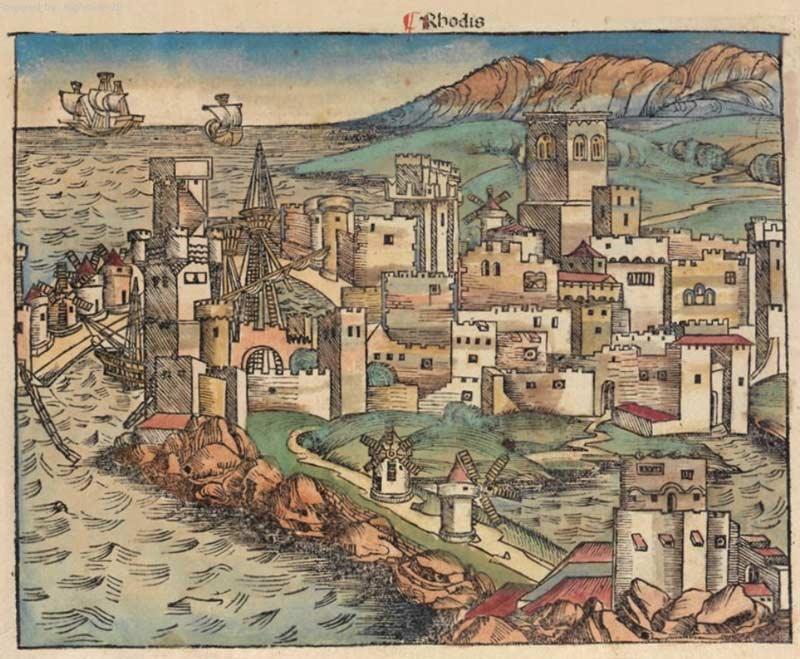 Средневековая История Родоса