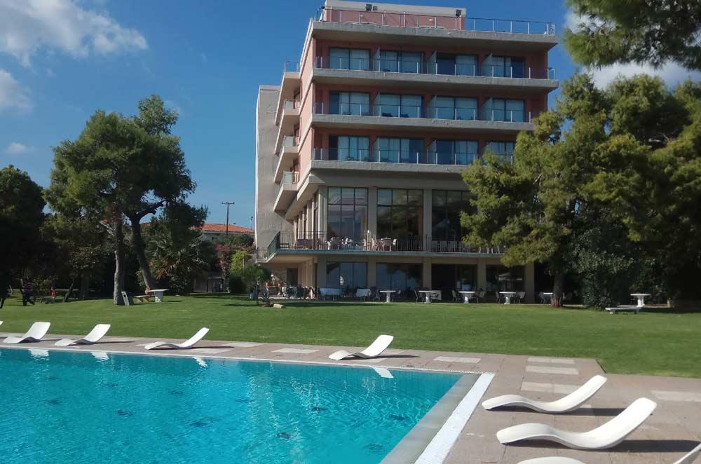 Отель Kalamaki Beach Hotel 4 звезды Греция Пелопоннес