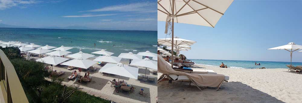 Пляж в Отеле Сани Клаб