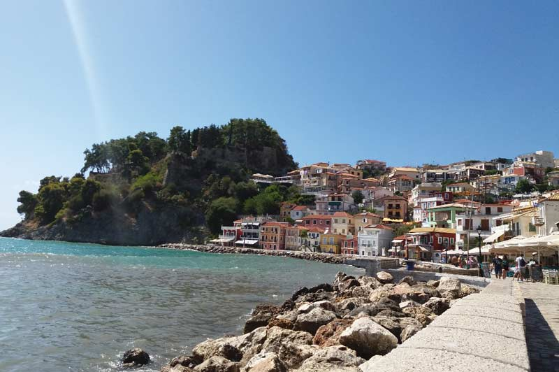 Город курорт Парга Греция