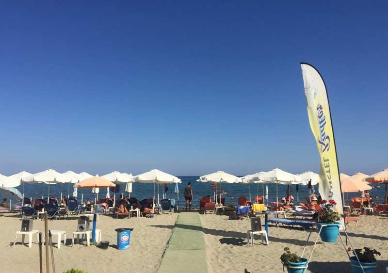 Пляж и море в Парфенон Арт отель