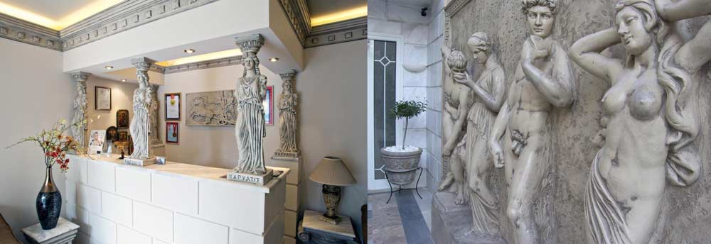 Отель Parthenon art hotel 3 звезды