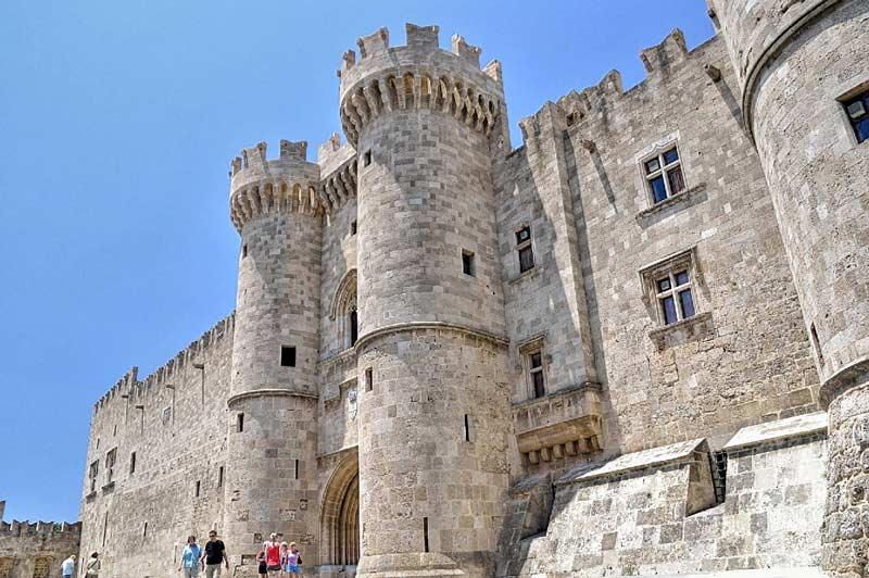Достопримечательности Родосская крепость