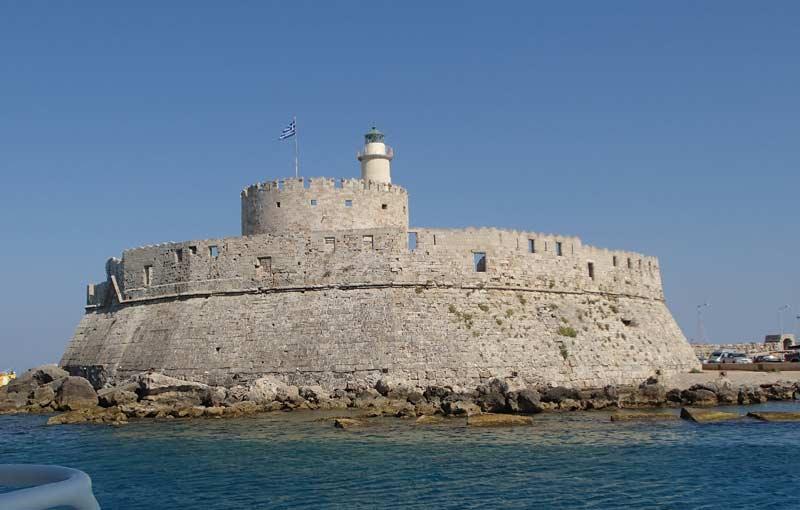 Форт Святого Николая на Родосе