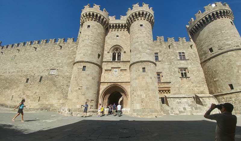 Дворец Великого Магистра Родос