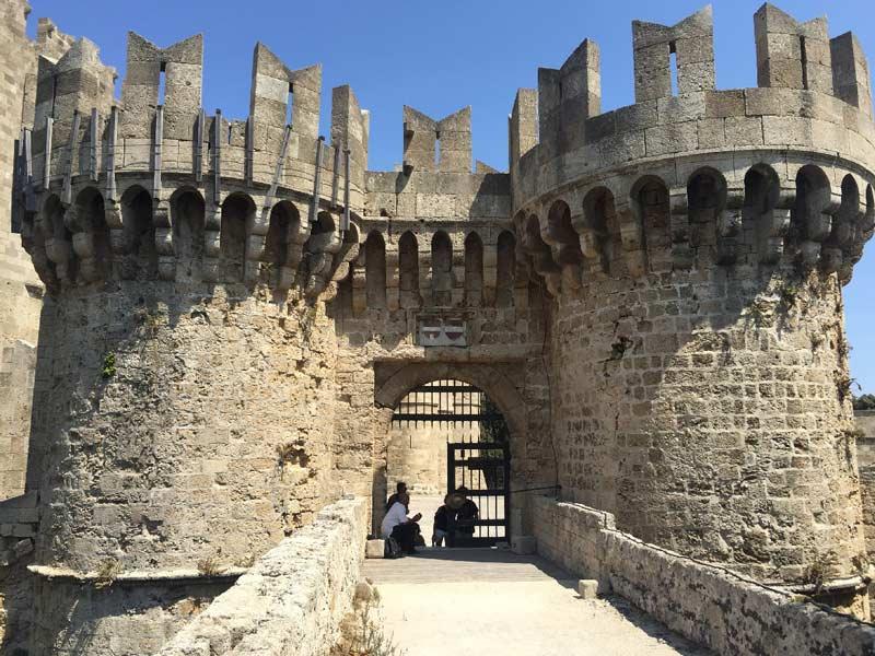Ворота Родосской крепости