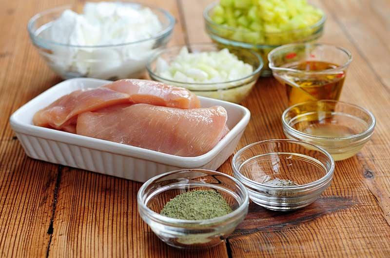 Сувлаки с курицей ингредиенты