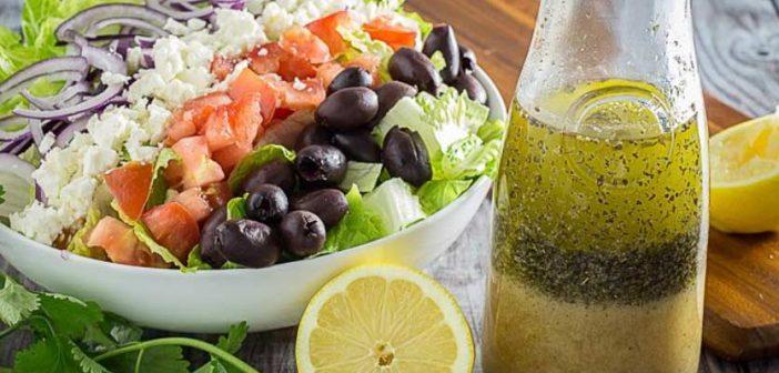 Заправка для греческого салата – самые удачные рецепты