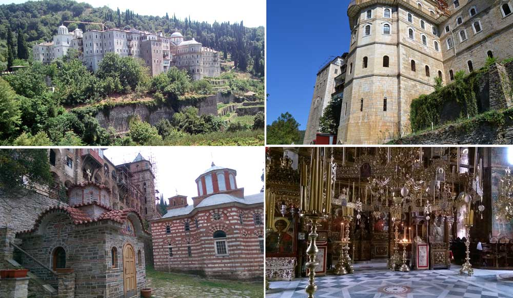 Монастырь Зограф Афон