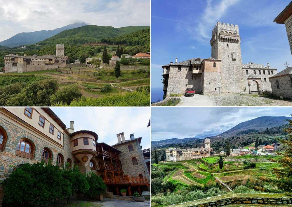 Монастырь Каракал Афон