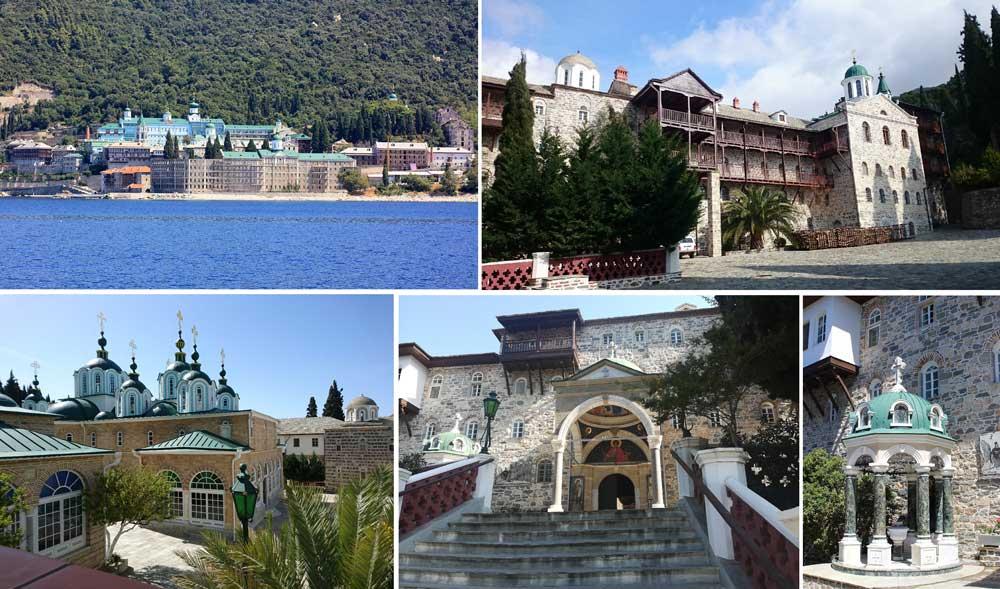 Монастырь Свято-Пантелеимонов на Афоне