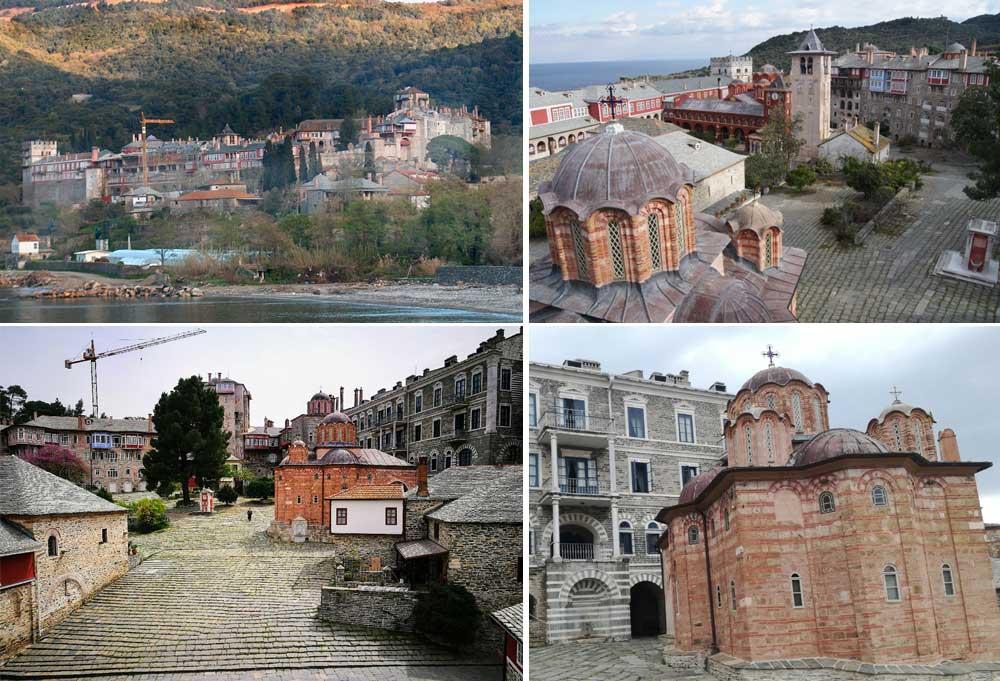 Монастырь Ватопед Афон