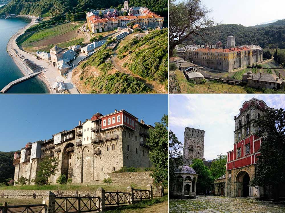 Иверский монастырь Афон