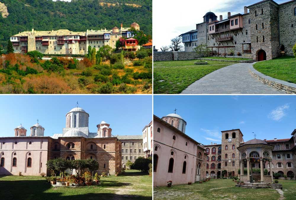 Монастырь Ксиропотам Афон