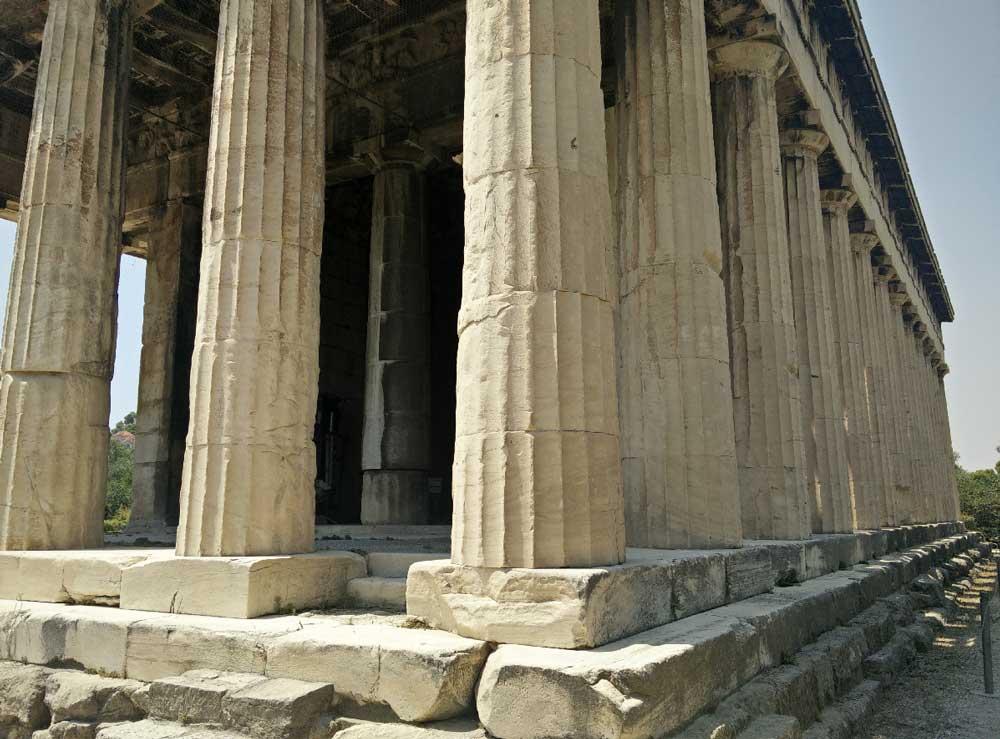 Архитектура Храма Гефеста в Афинах