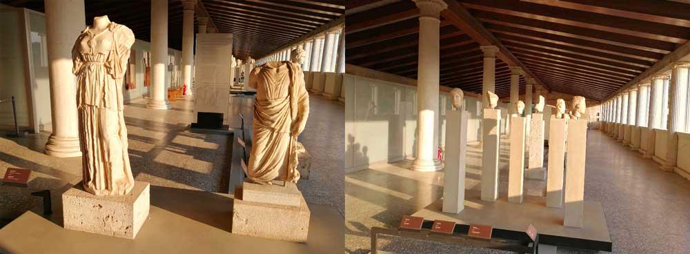Скульптуры храма Гефеста