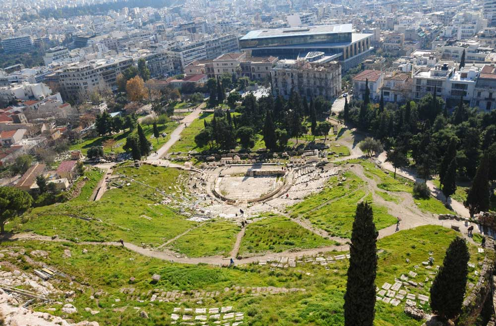 История Театра Диониса