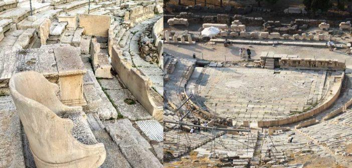 Театр Диониса: описание, история, как добраться и что посмотреть поблизости