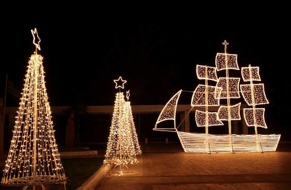 Как провести в Греции Рождество