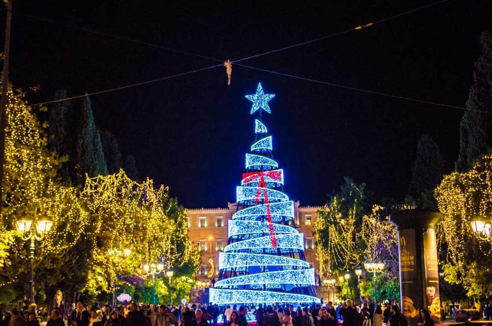 В Греции Рождество - как весело провести и куда сходить