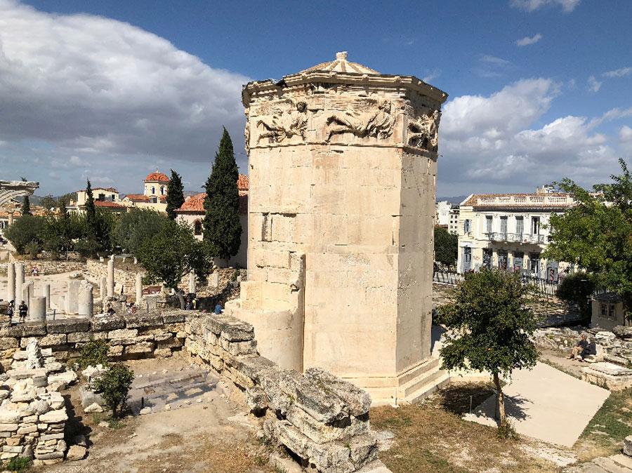 Афины башня ветров