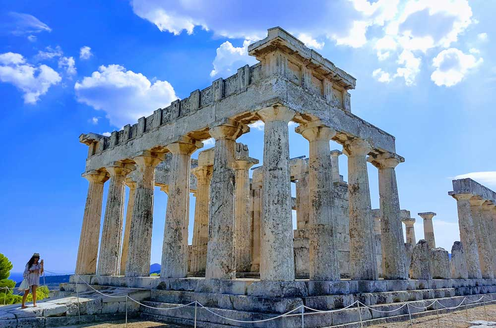 Храм Афины Афайи на острове Эгина