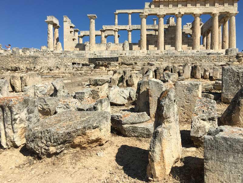История Храма Афины Афайи